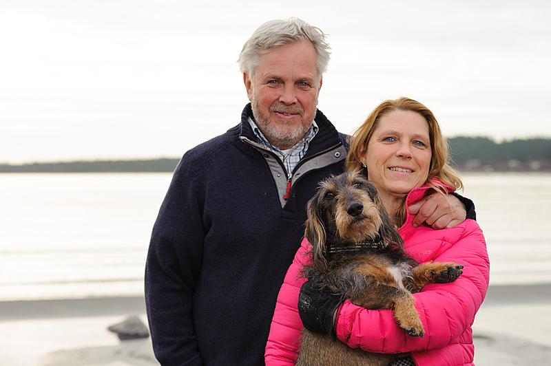 Ny arrendator på Högbondens fyr Marie & Olle Eriksson